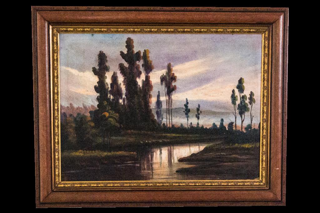 Imagen pintura de agradecimiento de artistas ecuatoriano