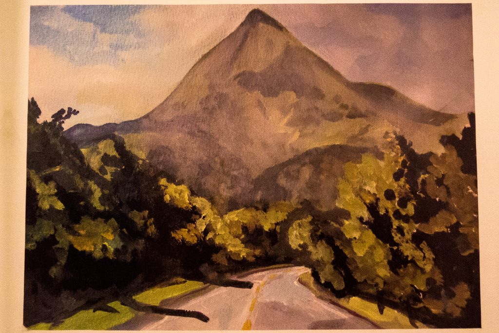 Pintura de el cerro Pacandé