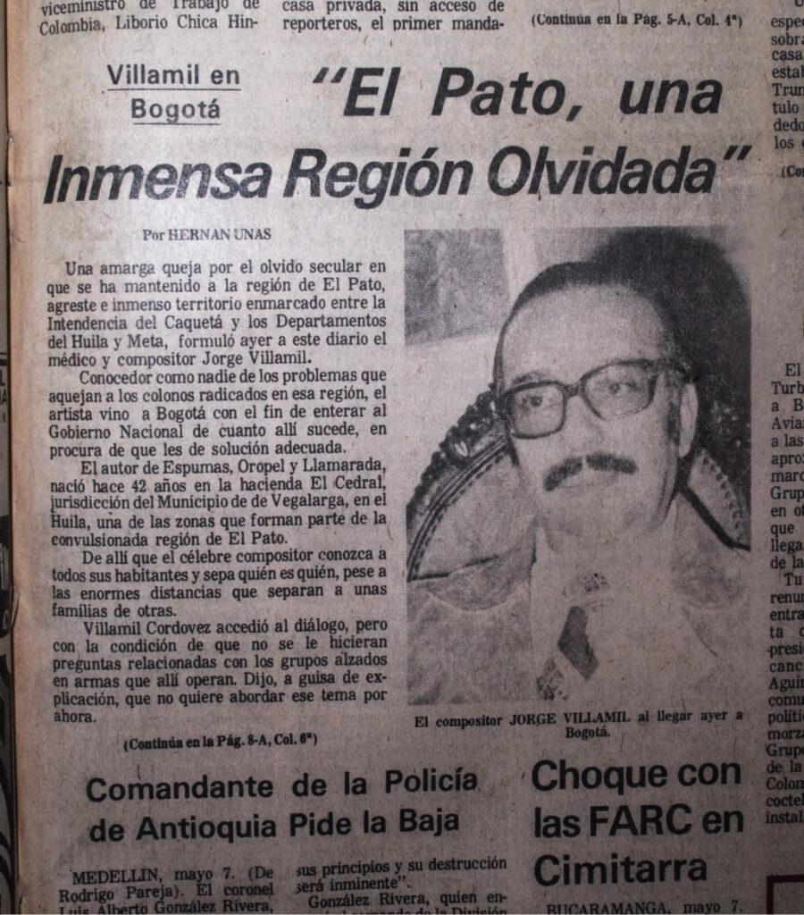Imagen El Espectador, mayo 7 de 1976